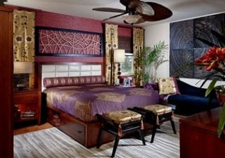 Ориенталски тип спалня