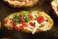Пица от печен картоф