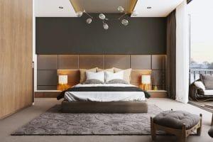 стилна модерна спалня