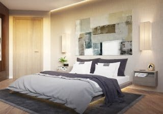 осветление в спалня
