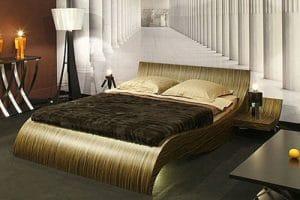 Вълнисти мебели за спалня