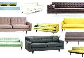 видове мека мебел
