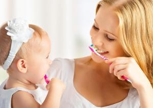 миене на зъби при децата