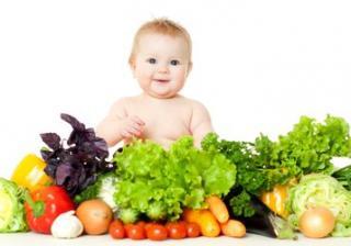 Плодове и зеленчуци за бебето