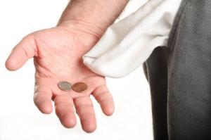 празни джобове