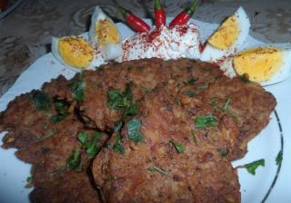Шницел от картофи и кайма