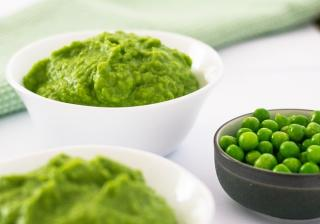 Зелен грах за бебе