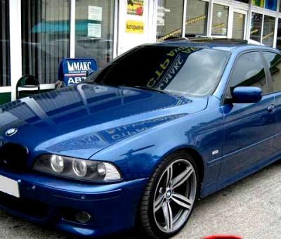 Как да свалим страничен прозорец на BMW 5 Серия E39