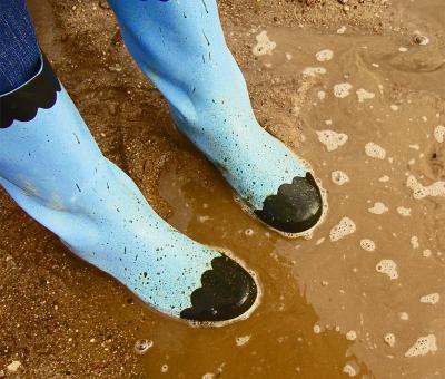 Гумени ботуши – как да ги носим