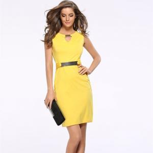 Свежи идеи как да носим жълто това лято