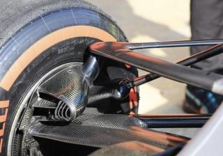 Как работи окачването на болид от Formula 1