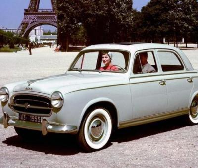 Кратка история на Peugeot