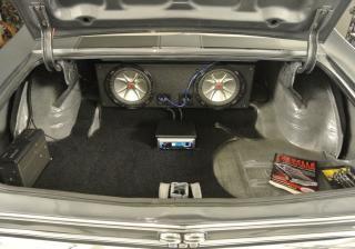 Как да скрием субуфера в колата