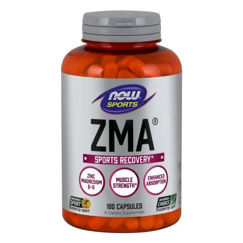 Повишаване на тестостерона чрез ZMA на NOW