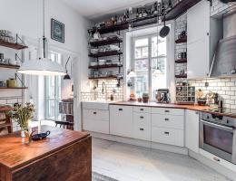 Скандинавските кухни продължават да ни удивляват с безупречната си визия и изискан дизайн